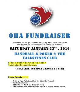 OHA fundraiser